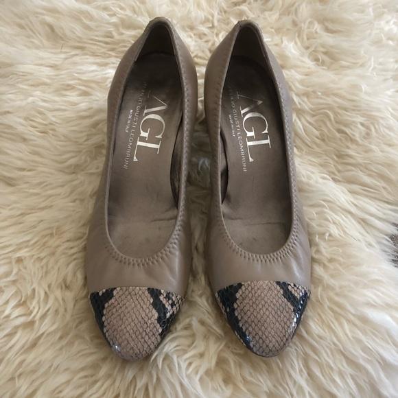 Agl Shoes - AGL cap toe pump size Eu 39